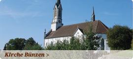 Kirche Bünzen