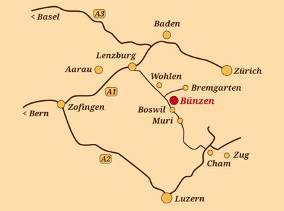 Standort Bünzen